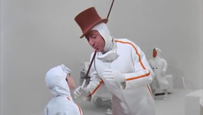 Charlie and the chocolate factory scene showing the cowboy kid and Willy Wonka. Demonstrating Wifi hacking packets.