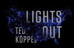 Lights Out book cover. A book about a national grid power outage