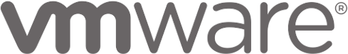 VMWare product logo in dark grey representing third party tools.