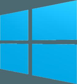 Light blue Windows computer logo. Shown at start of Windows Internet Privacy Access segment.